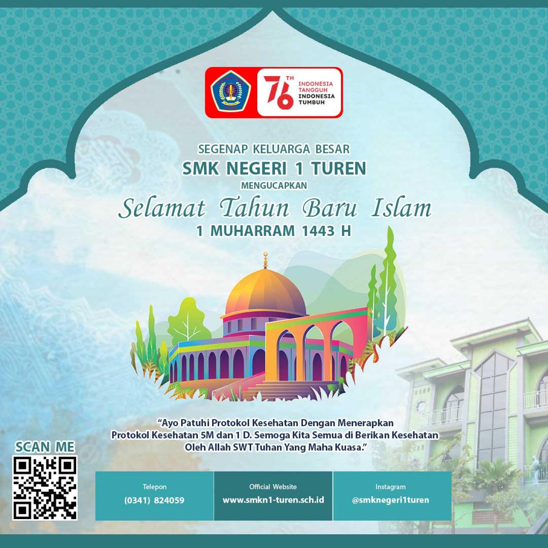 Selamat Tahun Baru Islam 1 Muharram 1443 Hijriah