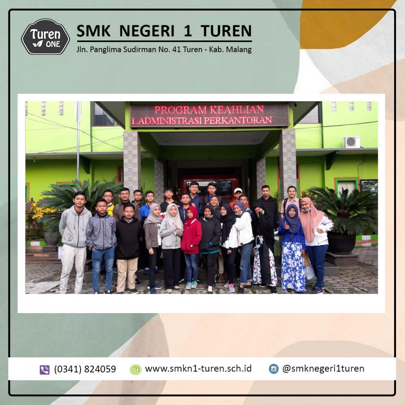 BKK SMKN 1 Turen Mengantarkan 24 Peserta Pelatihan di API Madiun
