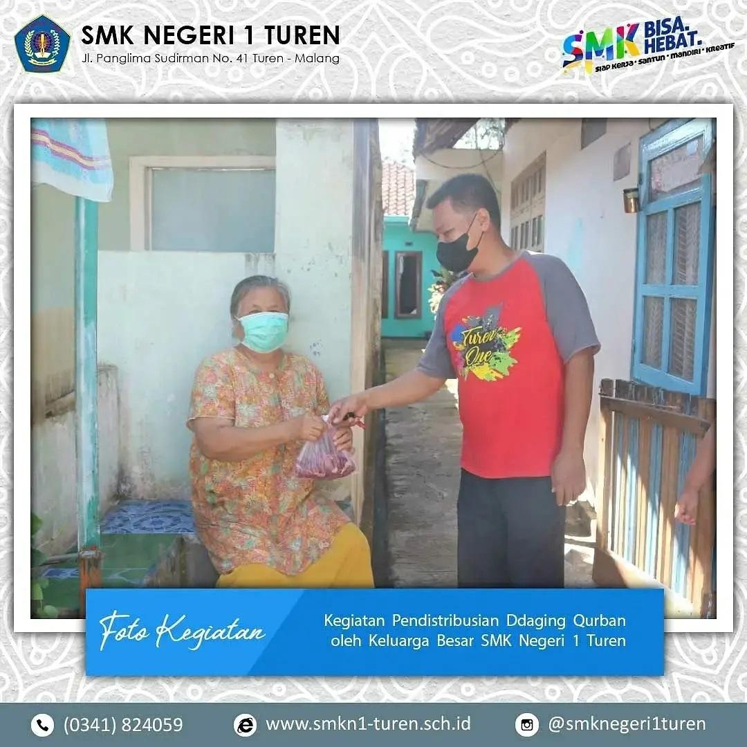 Distribusi Daging Qurban Idhul Adha 1442 H