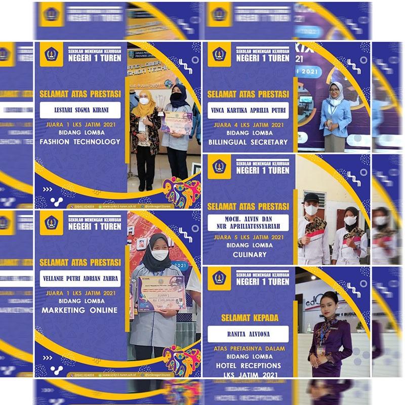 Prestasi Membanggakan Kontingen LKS SMK Negeri 1 Turen di Ajang LKS Provinsi